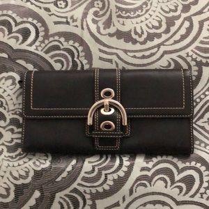 Classic coach wallet